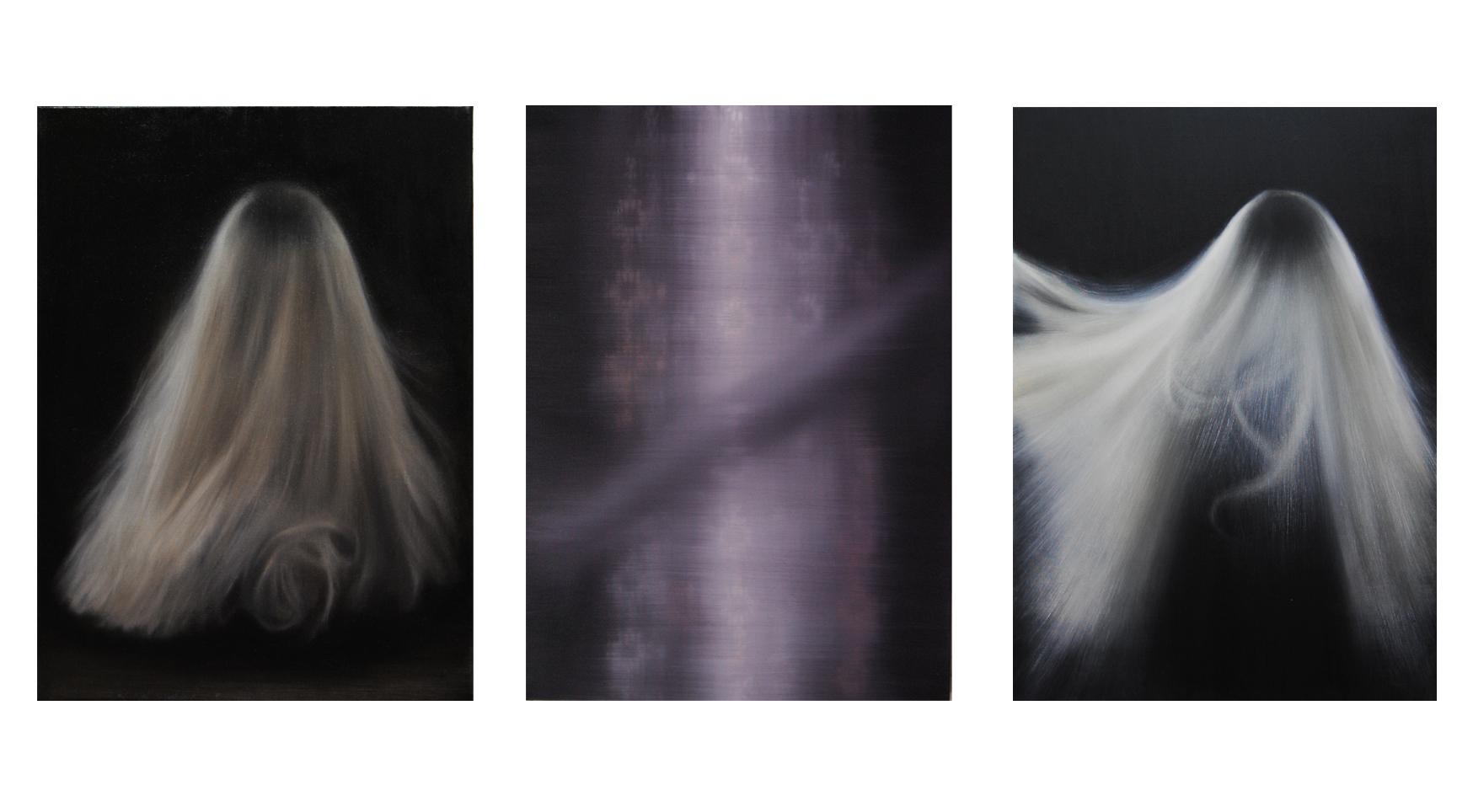 """""""Persona""""- (triptych)- oil- on- canvas- 66x48- cm- 2020-leonor-ruiz-dubrovin"""
